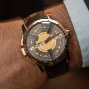 Poker wristwatch on the wrist of Mr. Christophe Claret
