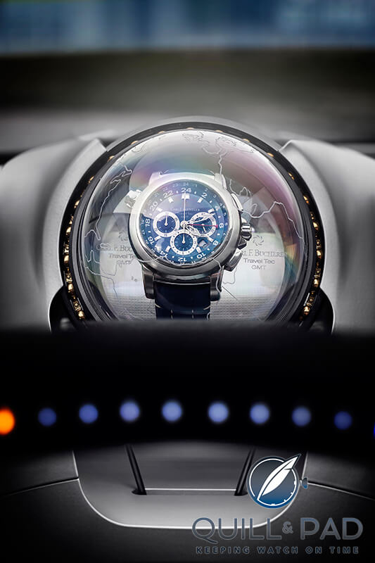 Carl F. Bucherer Patravi Travel Tec Rinspeed