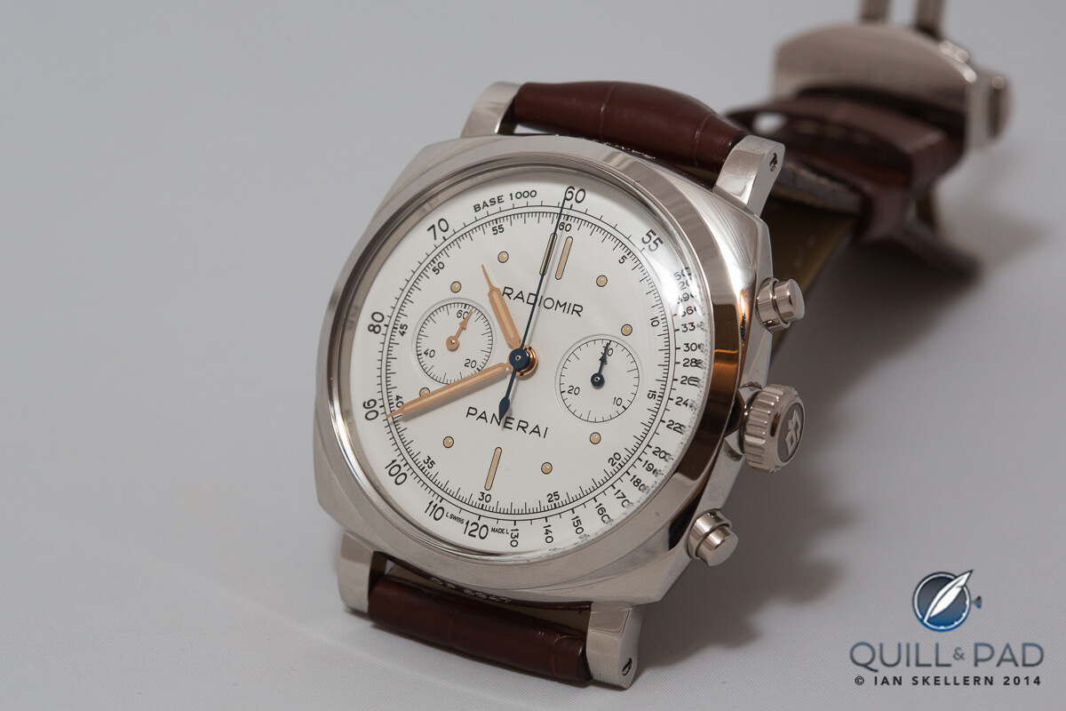 Panerai Radiomir 1940 Chronograph in white gold