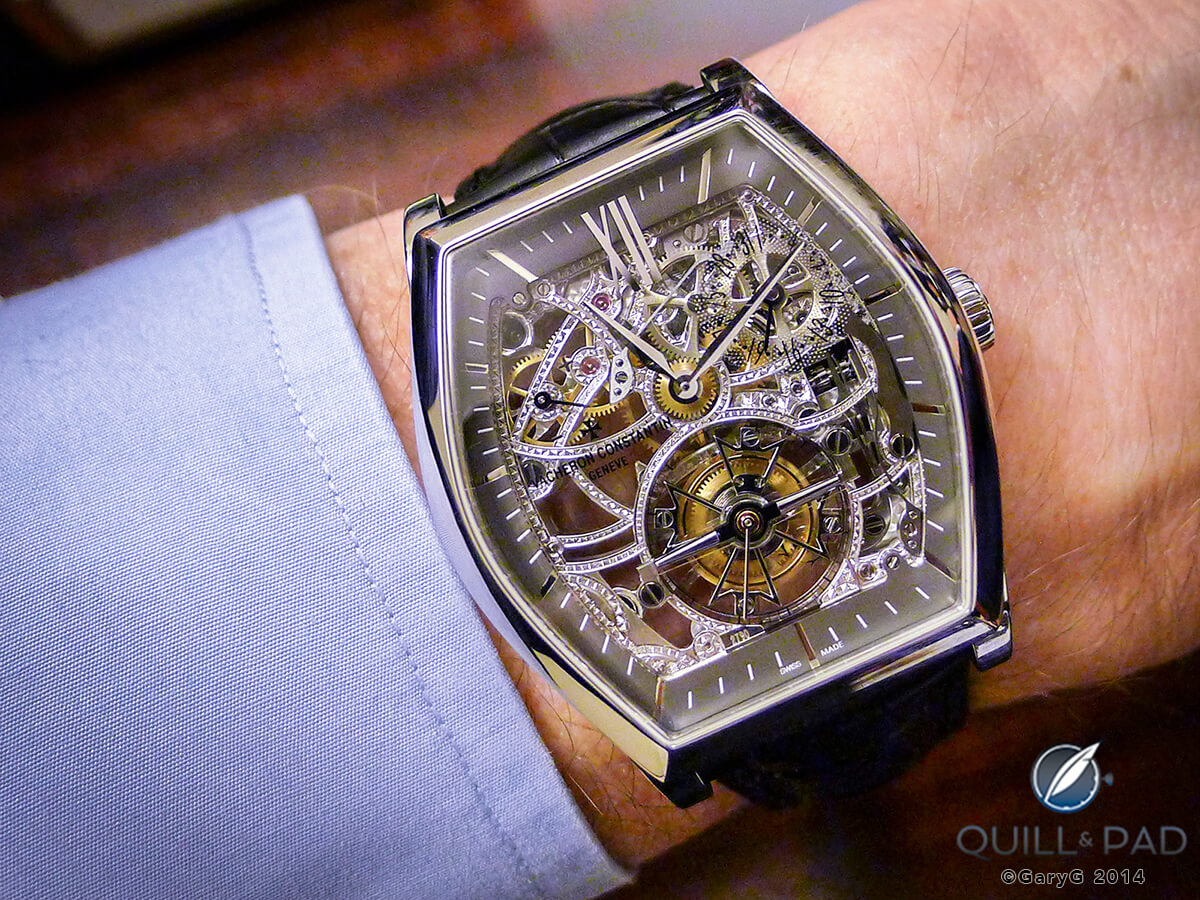 Vacheron Constantine skeletonized tourbillon