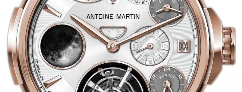 Tourbillon Astronomique by Antoine Martin