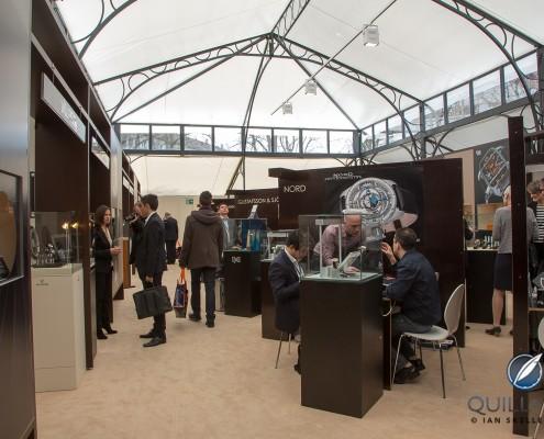 Inside the Baselworld Palace