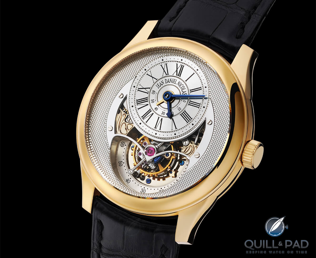Jean Daniel Nicolas 2-minute tourbillon by Daniel Roth. Photo courtesy Guy Lucas de Peslouan.