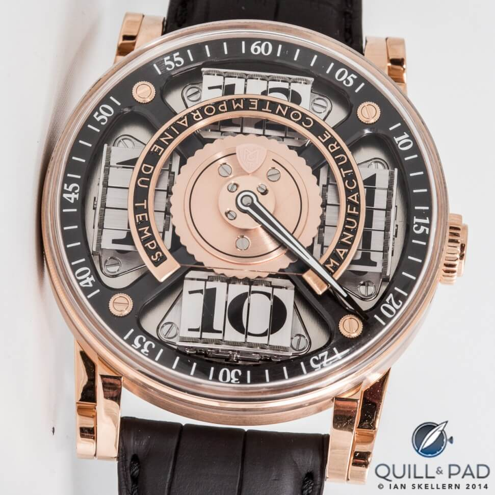MCT Sequential Two S200 in red gold