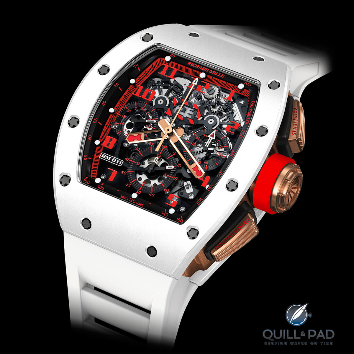 Richard Mille RM011 White Demon