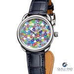 How Hermès Transforms Crystal Into The Colorful Dial Of The Arceau Millefiori Watch