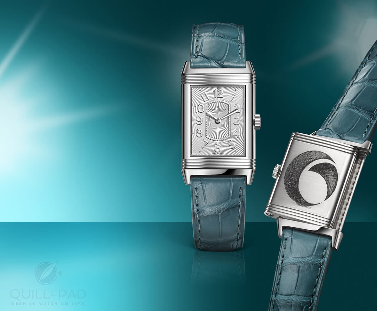 Jaeger LeCoultre Grande Reverso Ultra Thin Lady for the Ovarian National Cancer Alliance