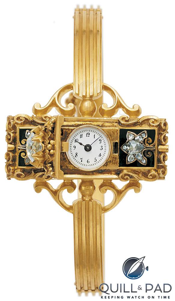 The first Patek Philippe wristwatch