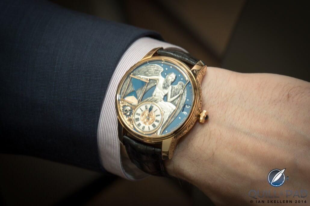 Konstantin Chaykin Carpe Diem wristshot
