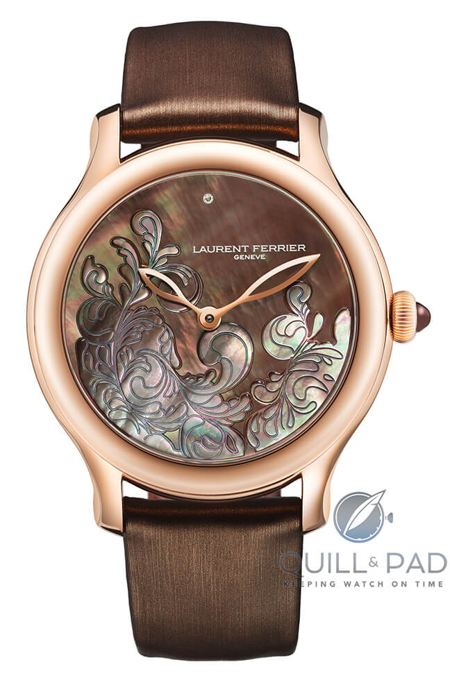 Lady F in red gold by Laurent Ferrier
