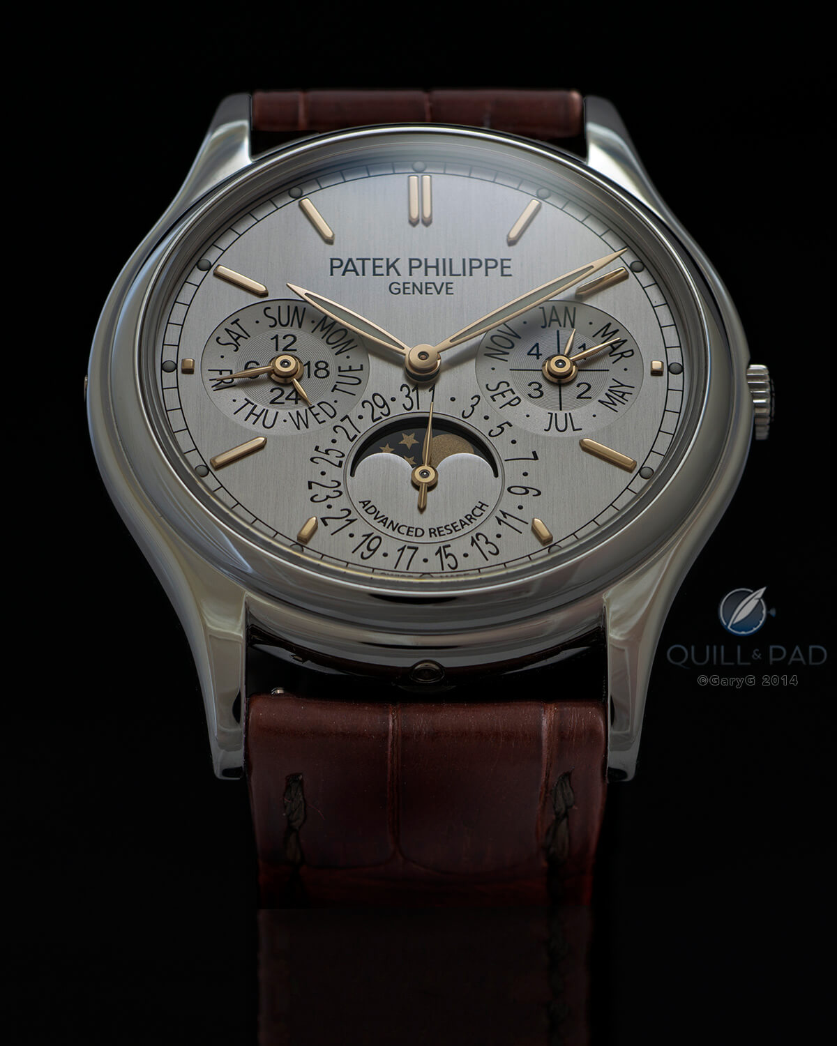 Patek Philippe Advanced Research Reference 5550P Perpetual Calendar