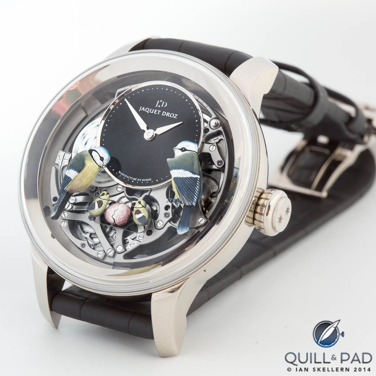 Bird Repeater with automaton by Jaquet Droz