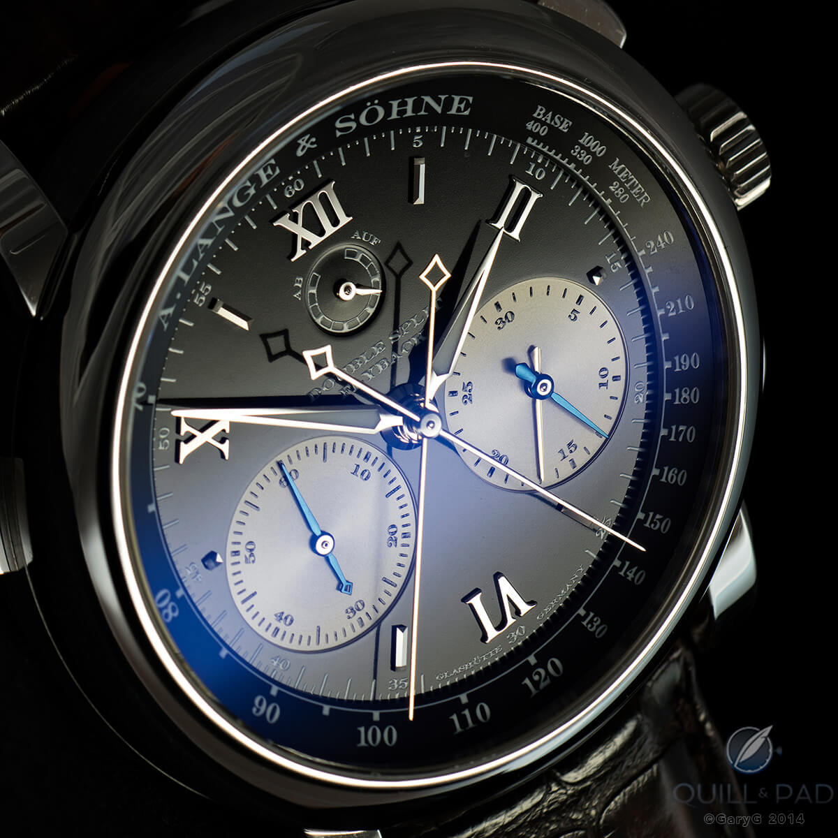 "The ""mighty"" A. Lange & Söhne Double Split"