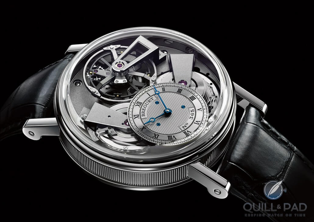 Breguet Tradition Fusée Tourbillon in platinum
