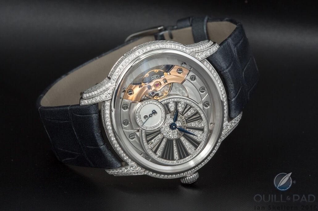 Audemars Piguet Millenary Woman in white gold with diamond-set dials