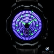 The brightly glowing lume of Sarpaneva's Northern Lights Violet