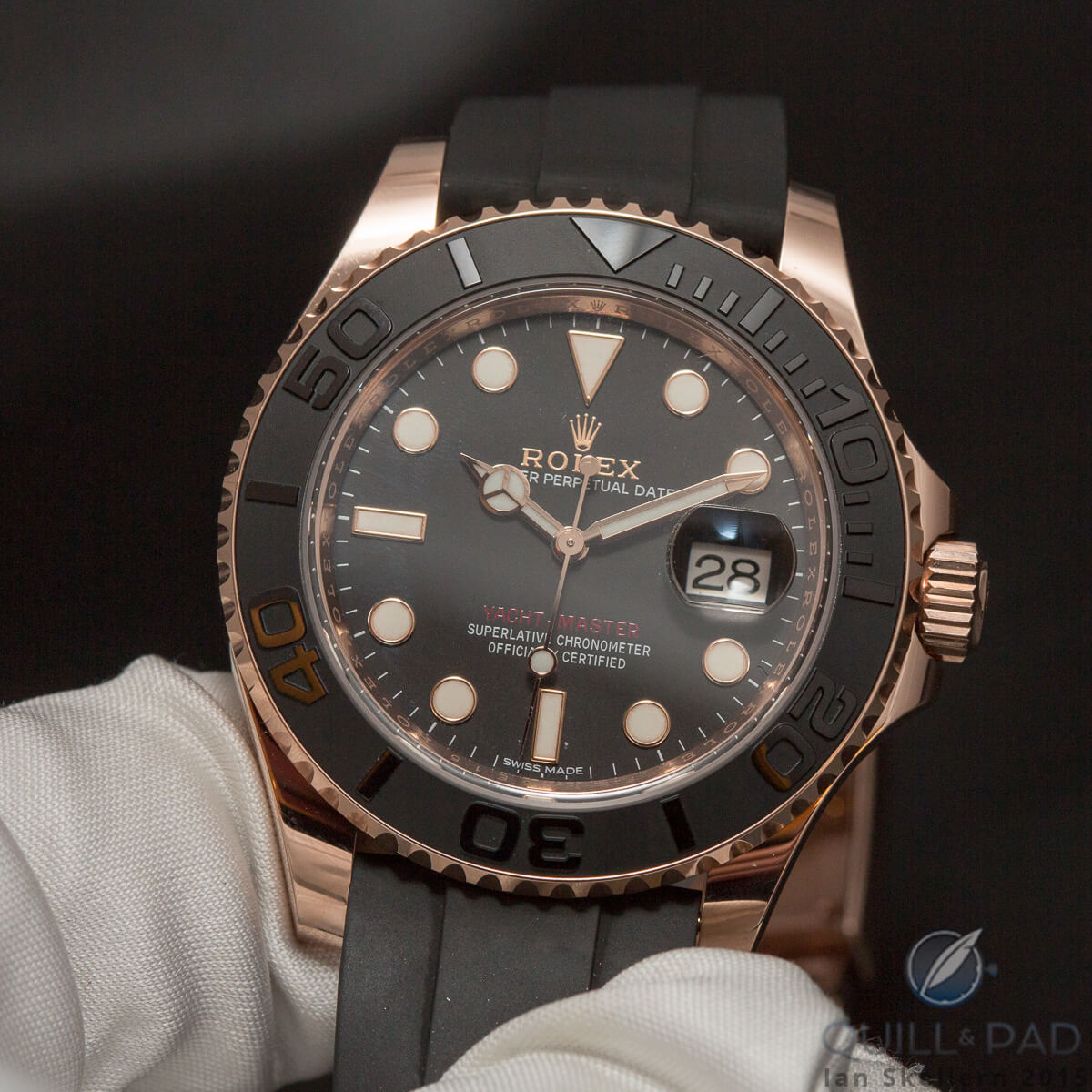Rolex Oyster Perpetual Yachtmaster 40