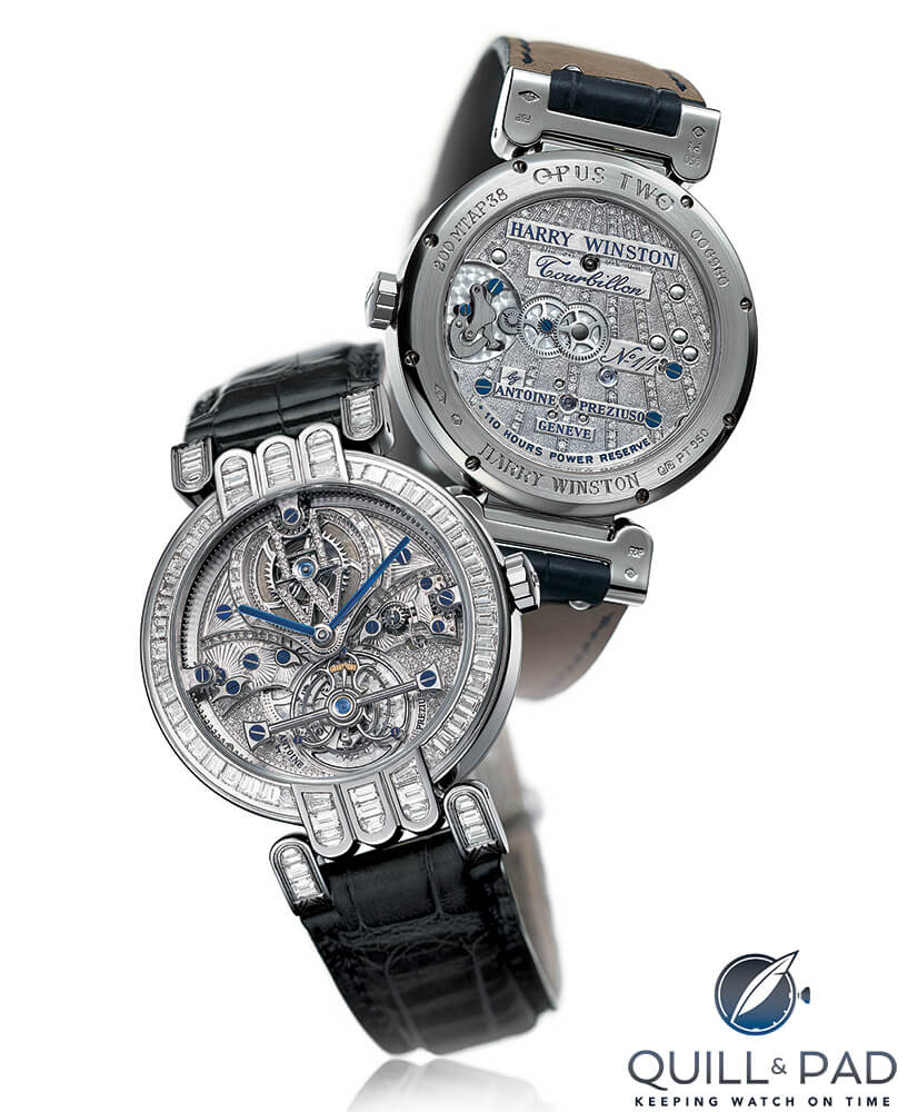 Harry Winston diamond-set Opus 2 by Antoine Preziuso