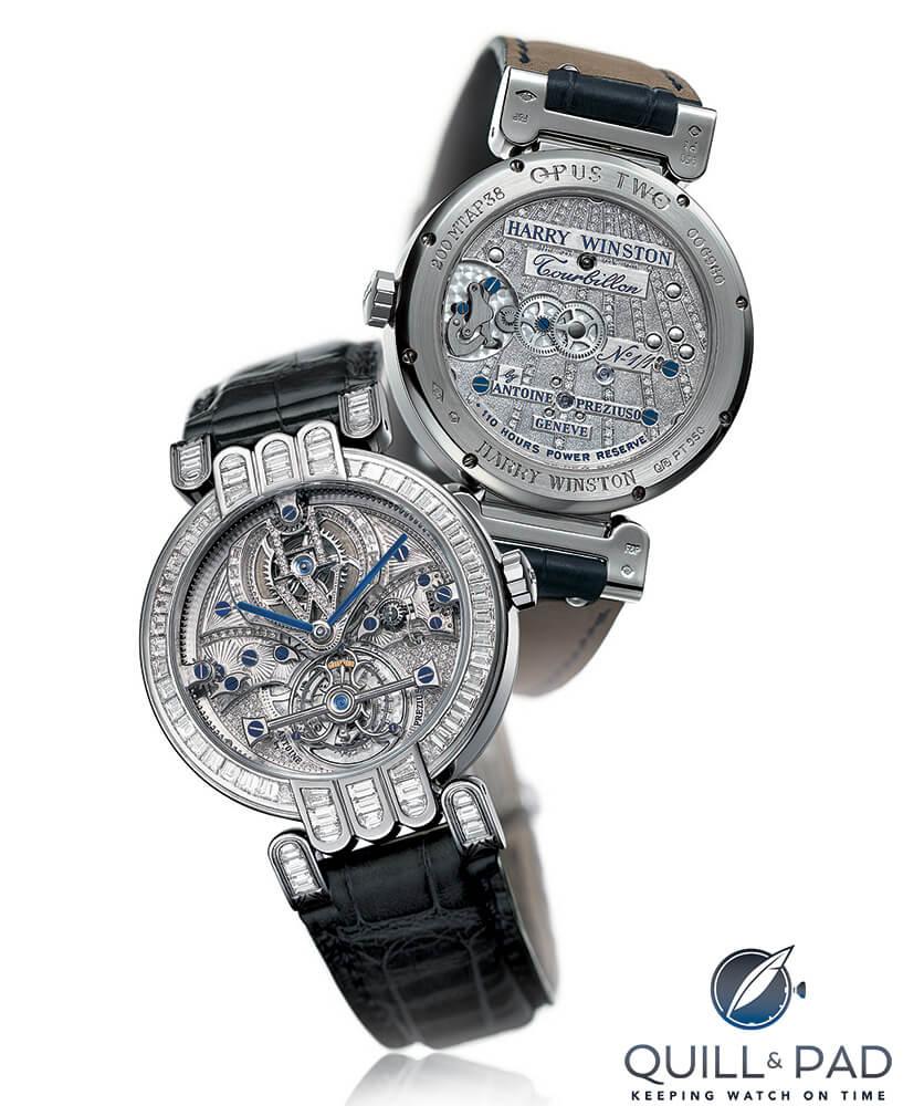 Harry Winston diamond-set Opus 2 by Antoine Preziuso