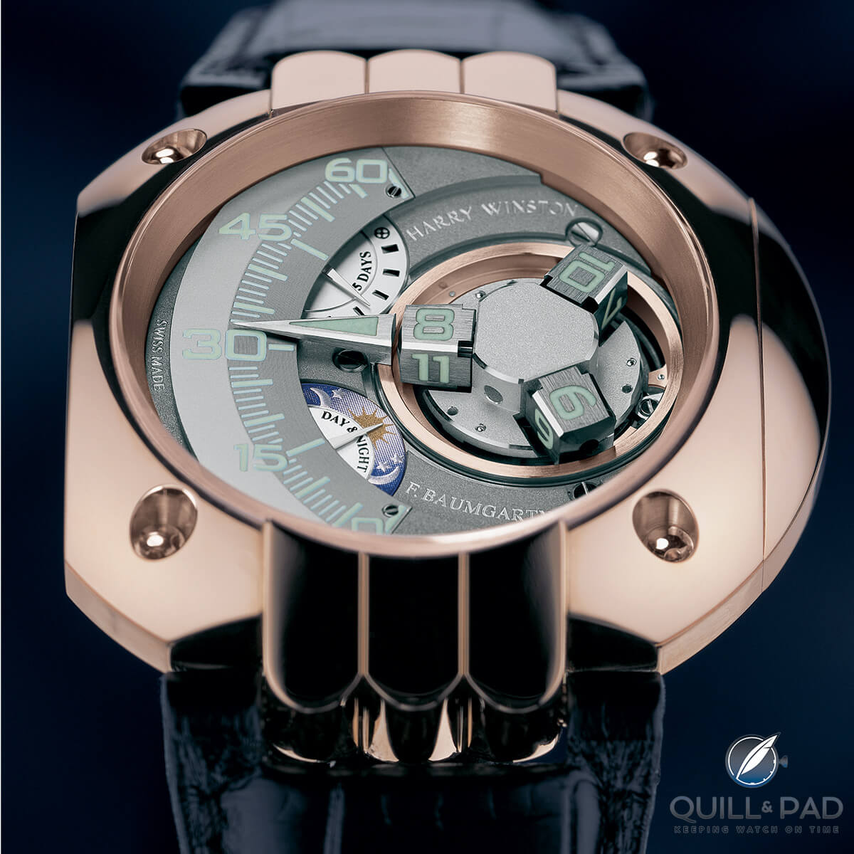2005: Harry Winston Opus V by Urwerk