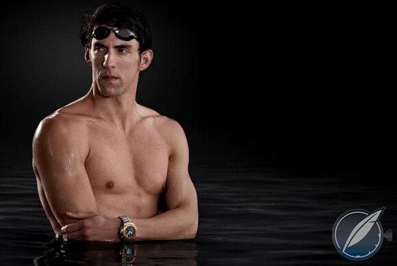 Omega ambassador Michael Phelps reflects on timekeeping (photo courtesy Omega)