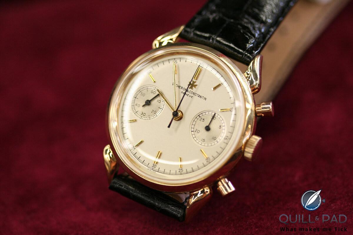 Vintage 1950s Vacheron Constantin Reference 6087 chronograph