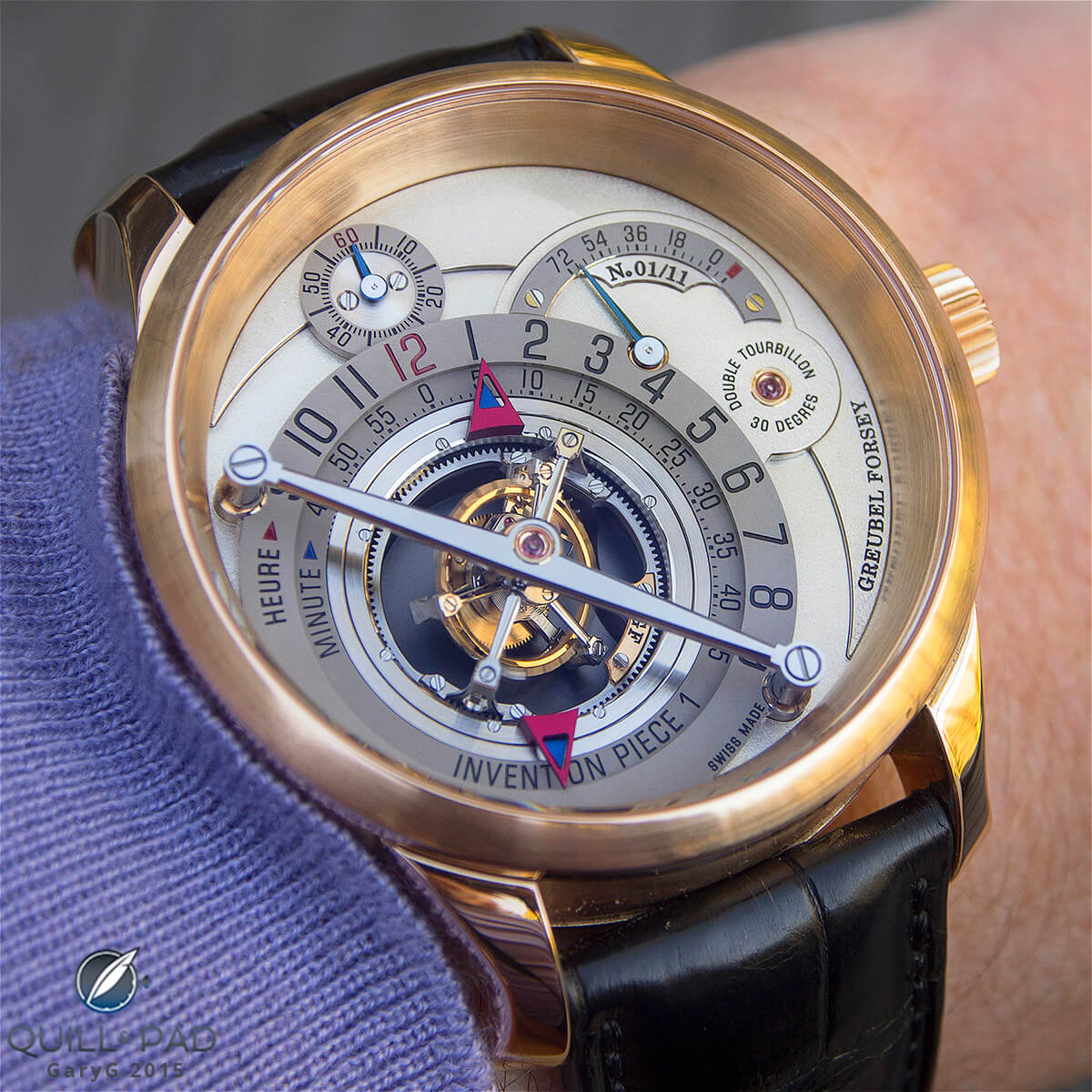 Worth the sacrifice: Greubel Forsey Invention Piece 1