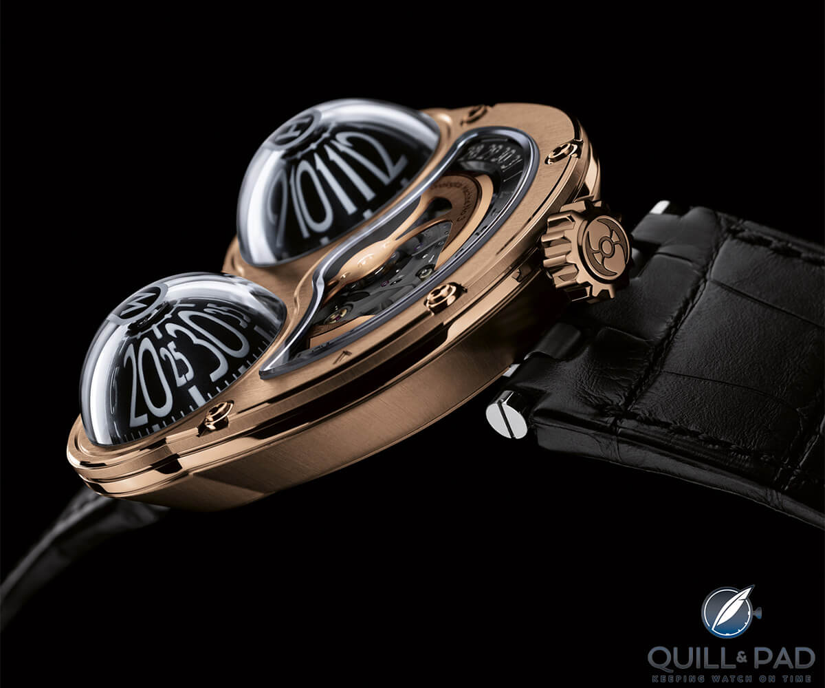 The MB&F HM3 Fire Frog