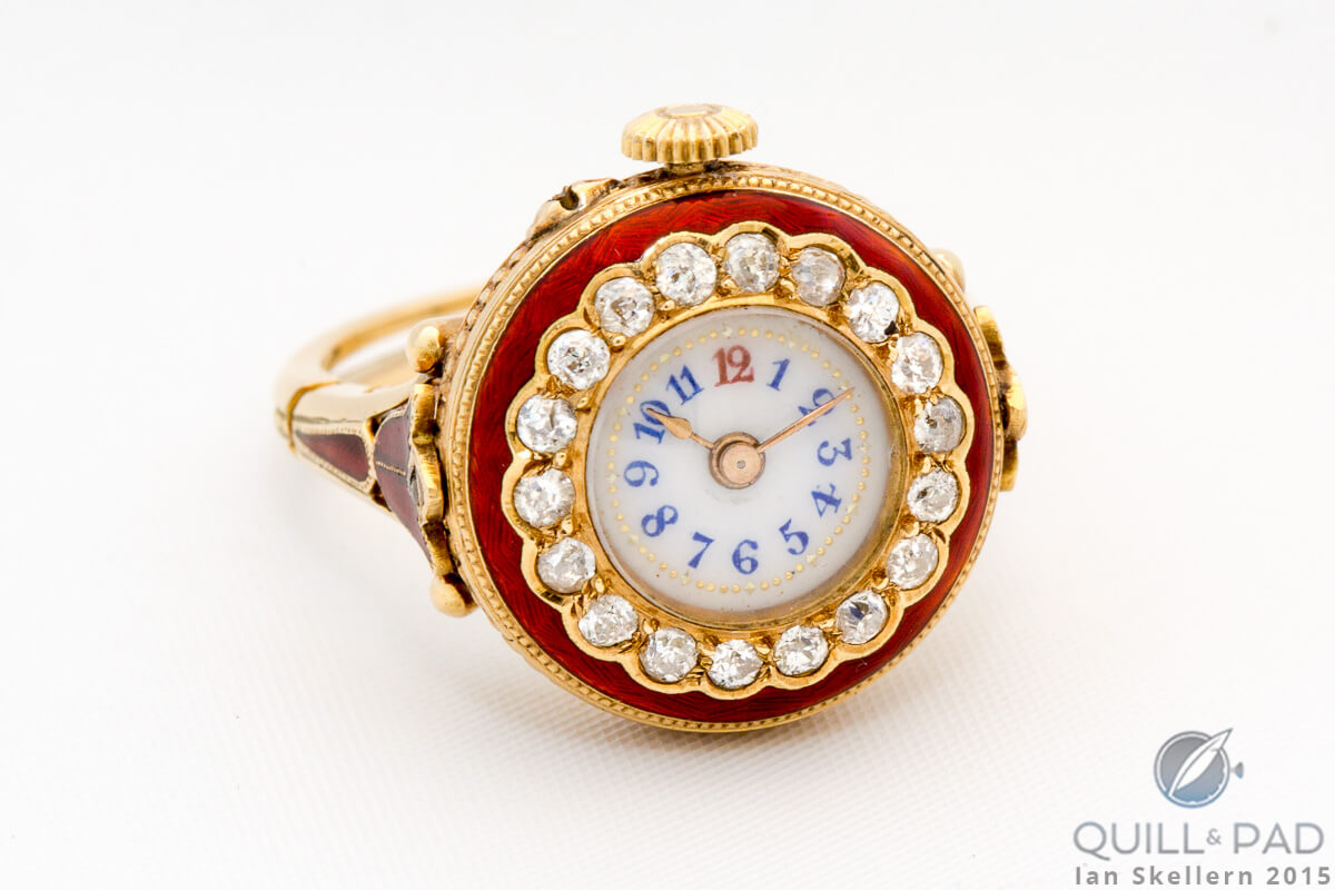 Jaeger-LeCoultre ring watch