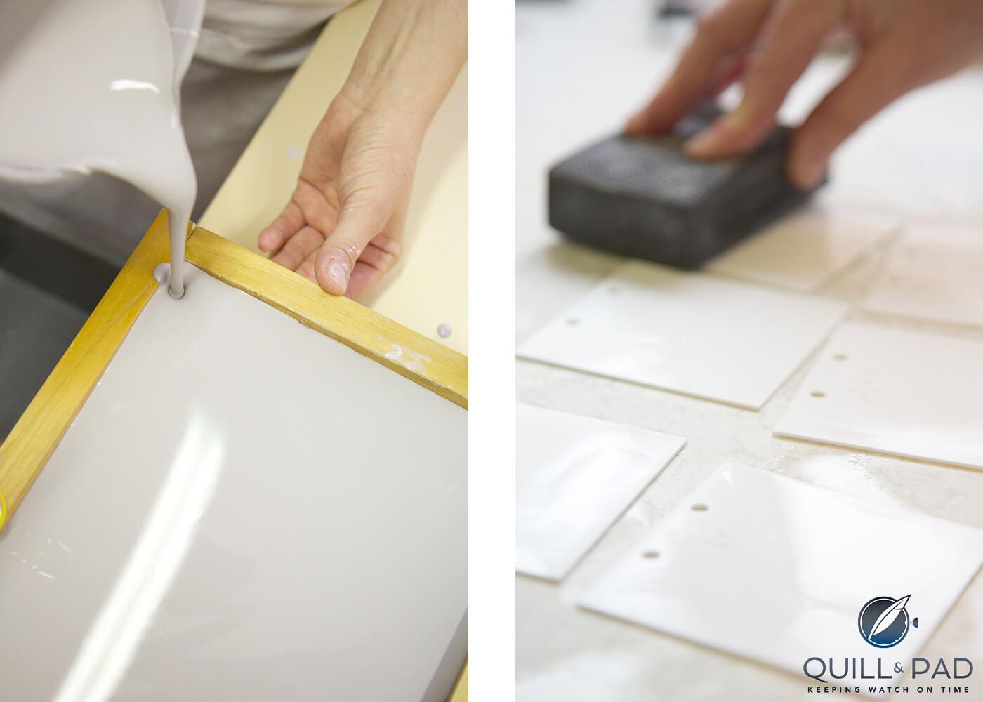 Making porcelain at the Manufacture National de Sèvres (photo courtesy Alfredo Piola/Hermès)