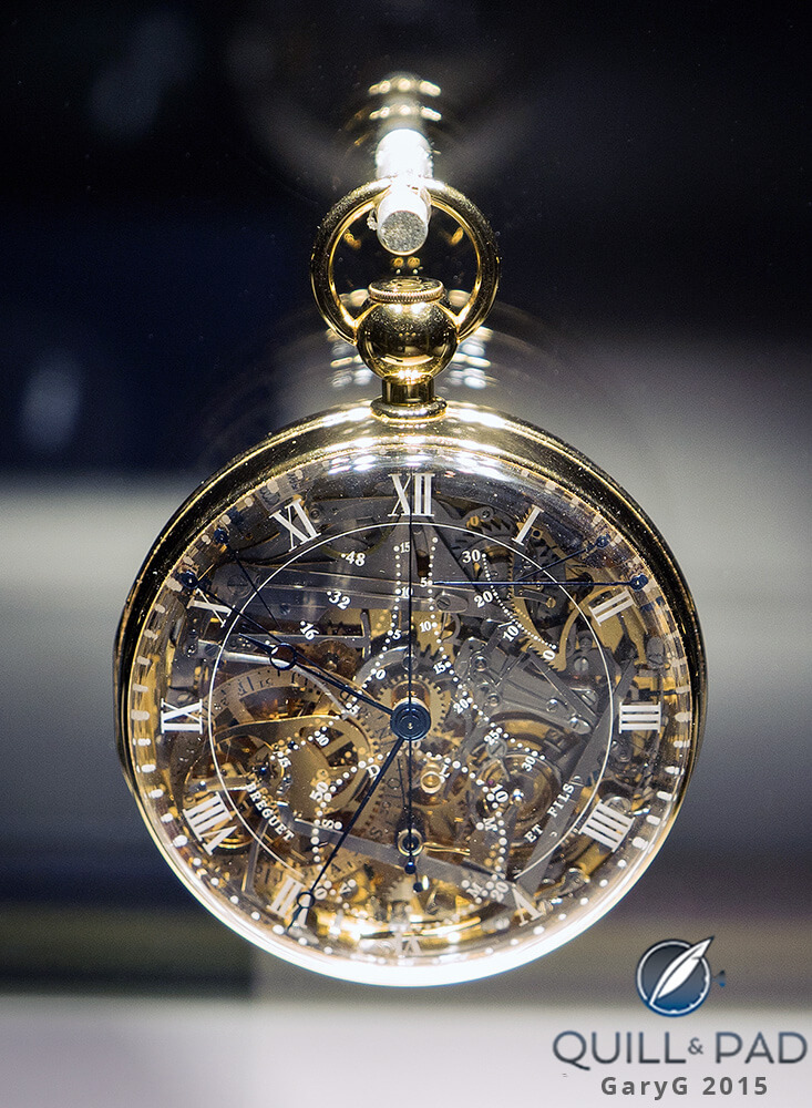 "The ""Marie Antionette"" recreation, Breguet"