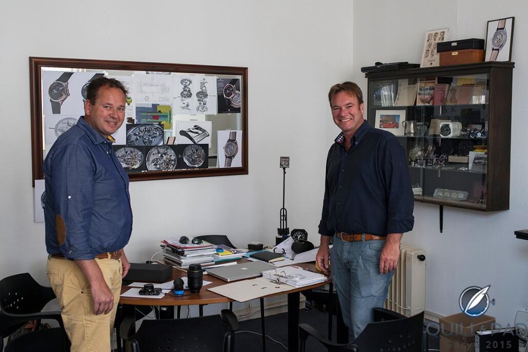 The horological brothers: Tim and Bart Grönefeld