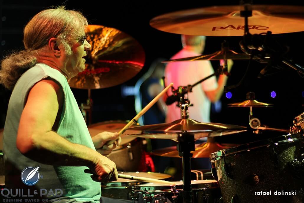 Deep Purple drummer Ian Paice (photo courtesy Rafael Dolinski / Paiste)