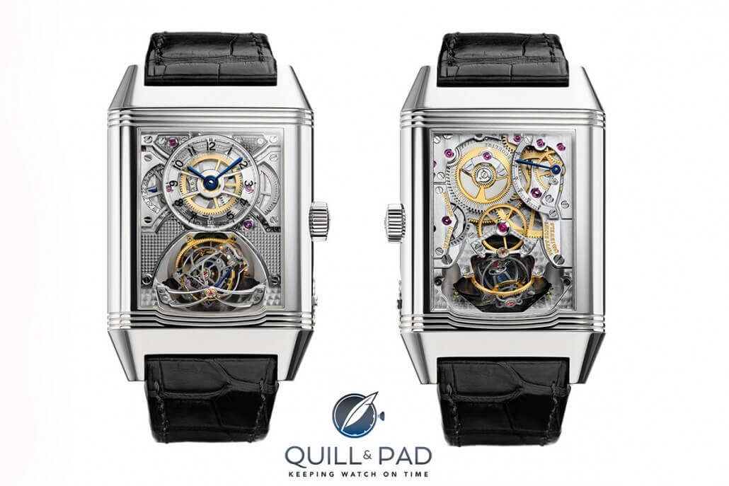 aeger-LeCoultre Reverso Gyrotourbillon 2: front and back