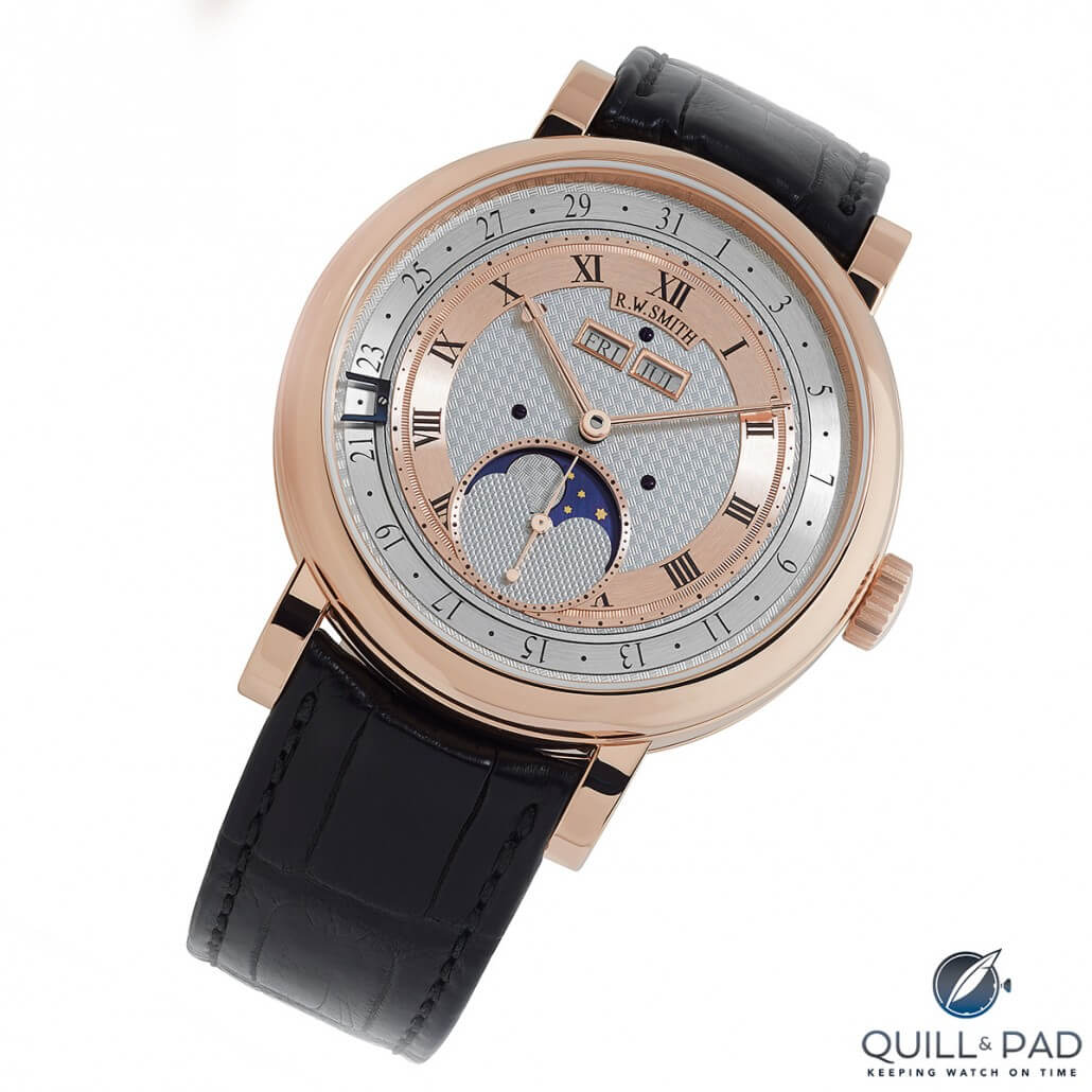 Roger Smith Series 4 triple calendar with moon phase