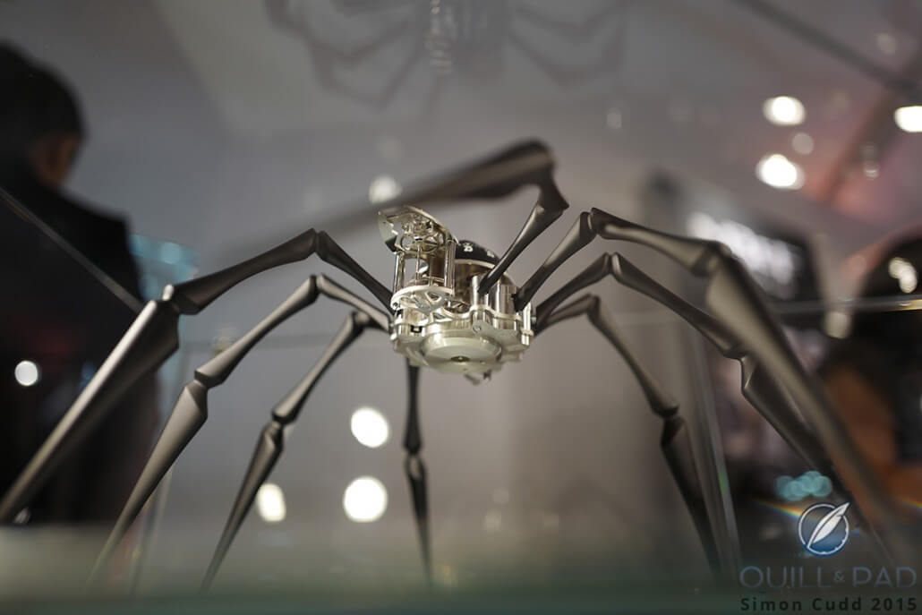 MB&F Arachnophobia at SalonQP 2015