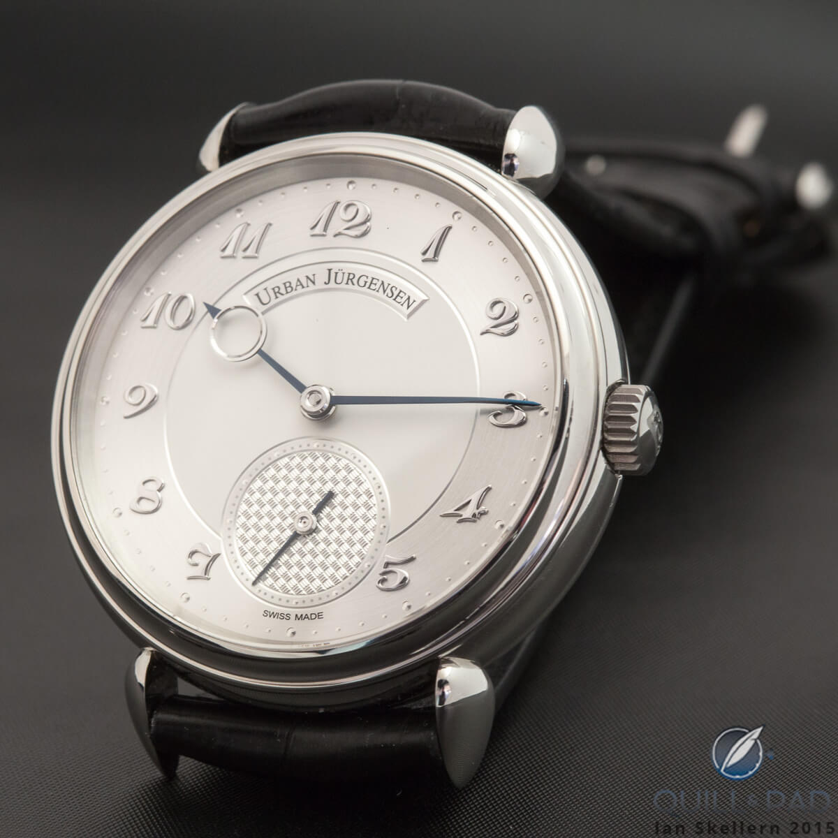 Urban Jürgensen Reference 1140L in solid platinum