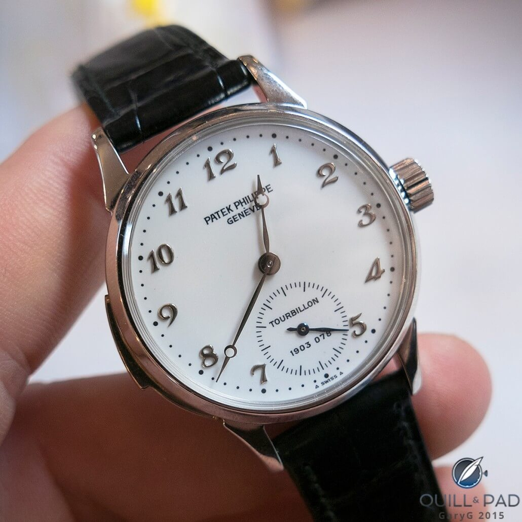 Solid performer: Patek Philippe Reference 3939 Tourbillon Minute Repeater