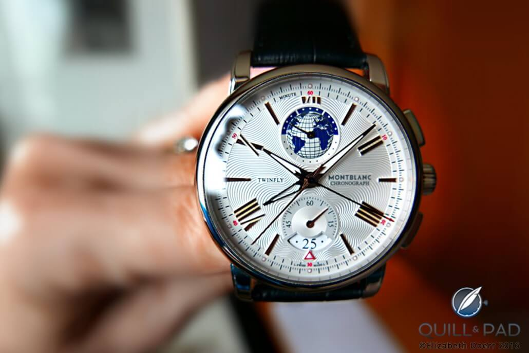 Montblanc 4810 TwinFly Chronograph 110 Years Edition