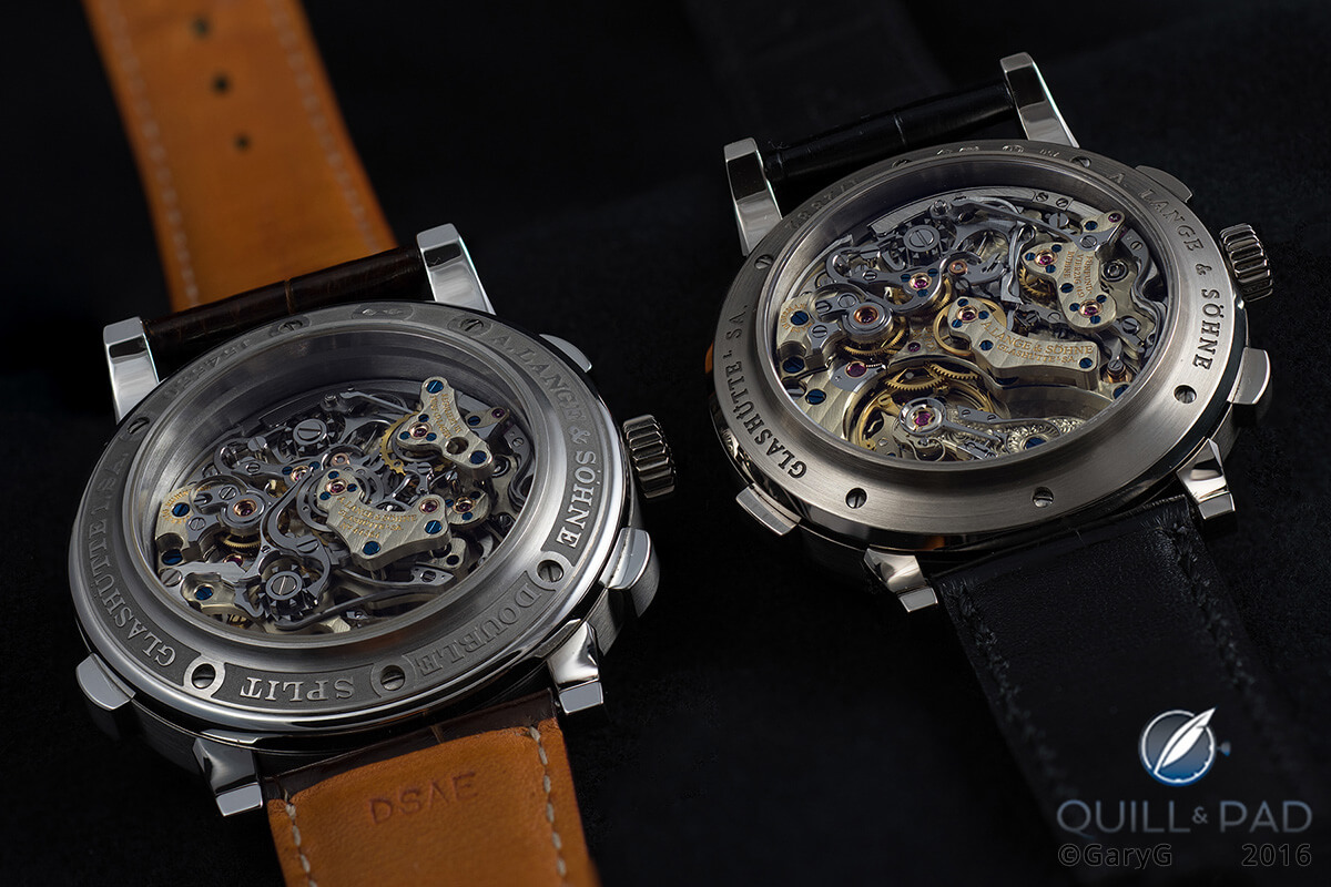 Choices, choices: movements of the A. Lange & Söhne Double Split and Datograph Perpetual