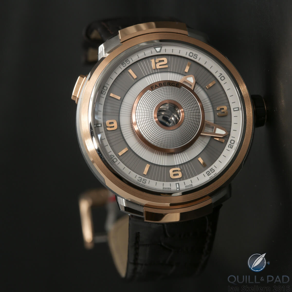 Fabergé Visionnaire DTZ in pink gold