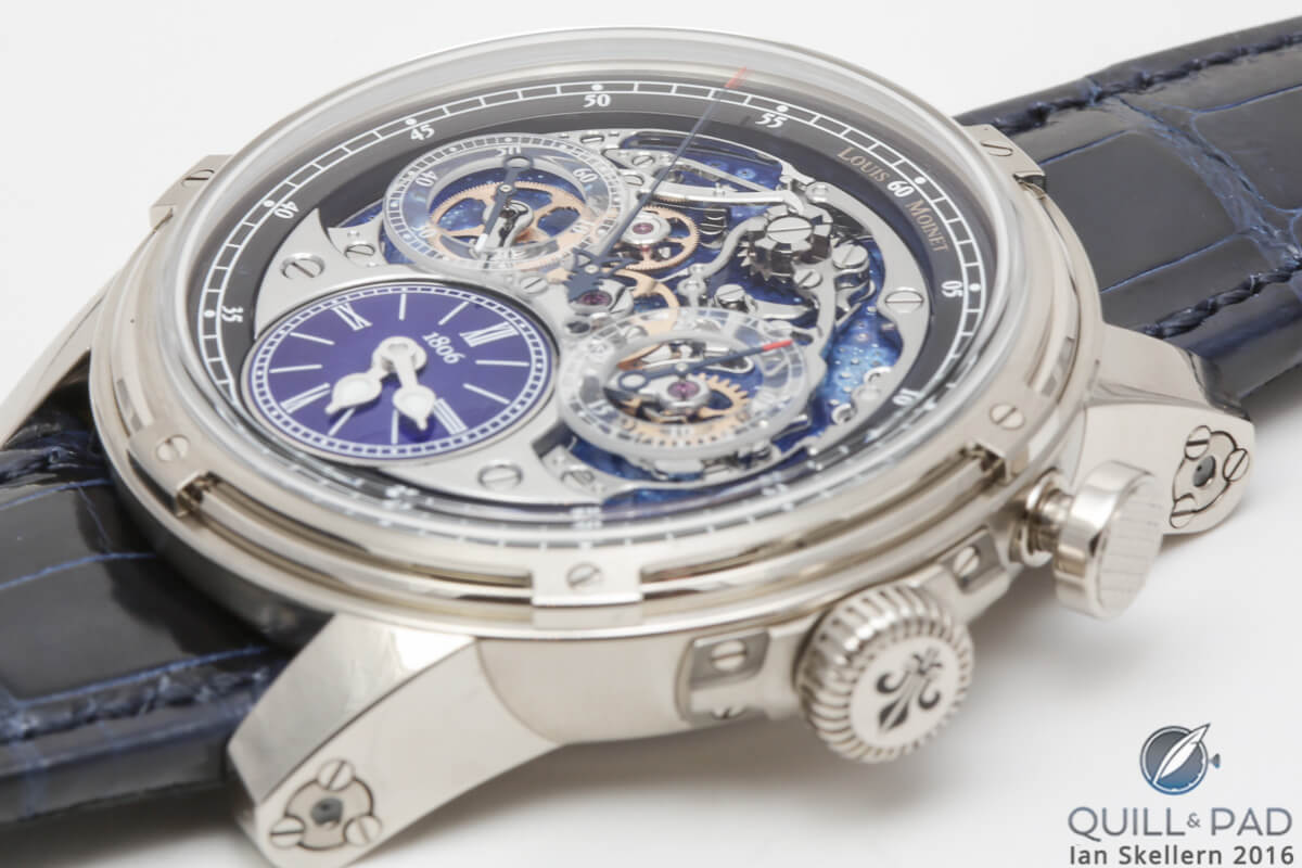 Louis Moinet Memoris 200th Anniversary Edition chronograph