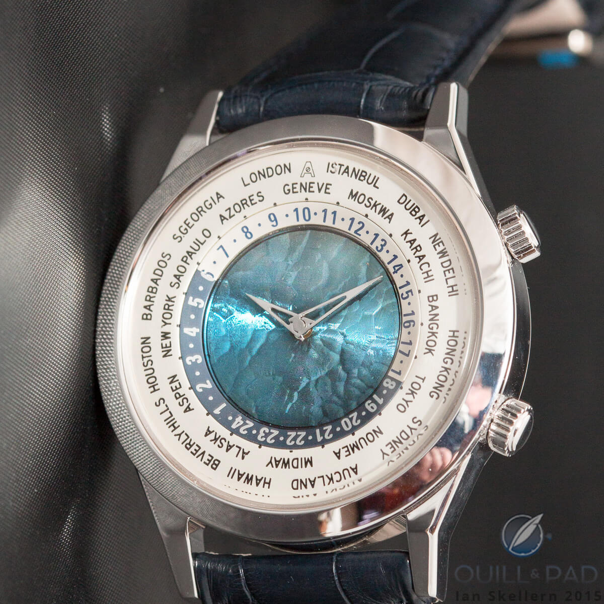 Andersen Tempus Terrae with exclusive blue gold dial