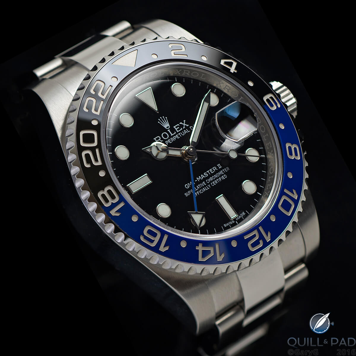Attractive and robust: Rolex GMT Master II BLNR