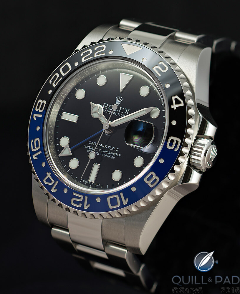 Exercise in coherence: Rolex GMT Master II