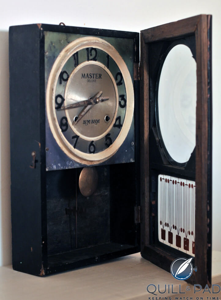 Dilip Sivaraman's old (and not working) mantle clock