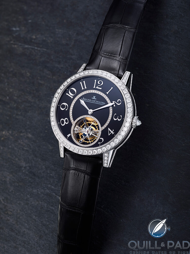 Jaeger-LeCoultre Rendez-Vous High Jewellery Tourbillon with enamel dial