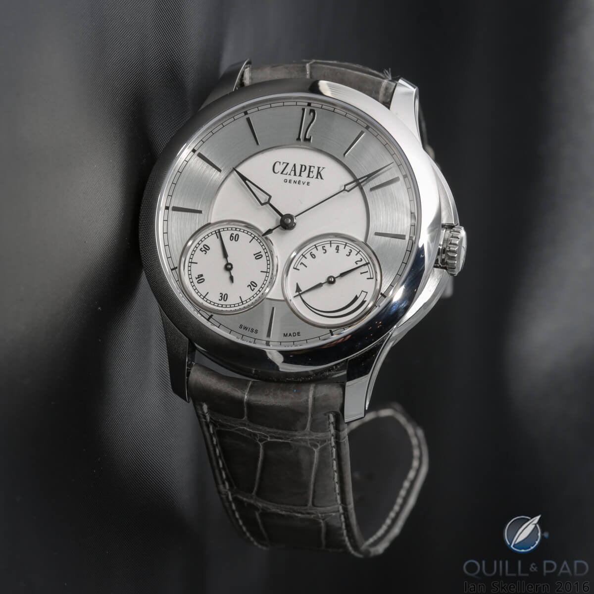 Czapek & Cie. in stainless steel from the Quai des Bergues collection