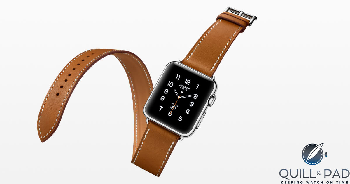 Apple watch by Hermés