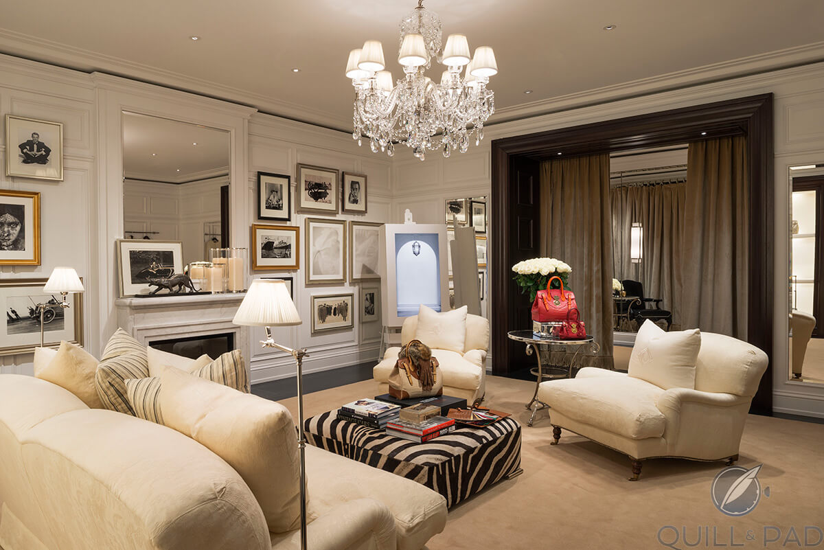 Palazzo Ralph Lauren has more the feel of a private home than a private club